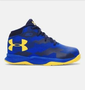 Under Armour TODDLER Curry 2.5 Basketball Shoes Size 6K Boys Shoes Blue