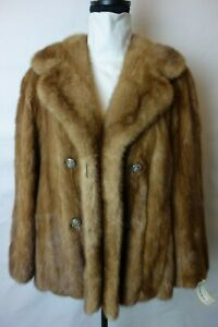 Vintage Small Mink Fur Coat Jacket 3963s