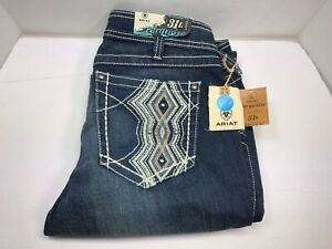 Ariat Women's 'Turquoise' High Kick Bootcut Jeans Size 31 Long (P37)