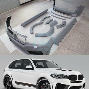 Design For BMW X5 F15 2013 2014 2015 Auto WIDE BODY KITS+Side Skirts Newest