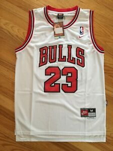 Michael Jordan Hardwood Throwbacks #23 White Chicago Bulls Kids Youth Jersey