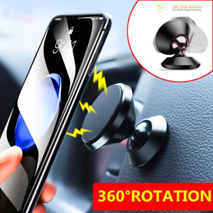 360 DEGREE MAGNETIC CAR DASH VENT MOUNT BALL DOCK HOLDER CELL PHONE UNIVERSAL