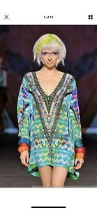 RARE Camilla Franks Kaleidoscope Short Lace Up Kaftan SLUK Free Size