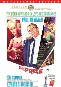 The Prize 1963 DVD Paul Newman Elke Sommer Edward G Robinson New