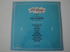 101 STRINGS PLAY A PROGRAM OF DUKE ELLINGTON COMPOSITIONS VINYL LP 1974 ALSHIRE