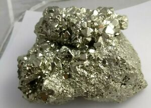 Gorgeous pyrite crystal specimen Peru 7.22lbs!  Fools Gold AAA!