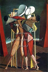 GIORGIO de CHIRICO Painting Poster or Canvas Print quot;Hector and Andromachequot;