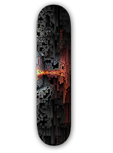 Abstract 1 pro quality skateboard deck 8.25