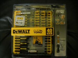 DEWALT DWA2T40IR IMPACT READY FlexTorq Screw Driving Set 40Piece NEW