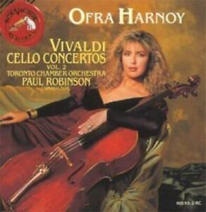 Various Artists : Ofra Harnoy - Vivaldi Cello Concertos Vol. 2 CD