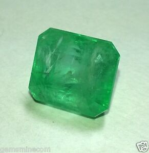 8.69 CT Emerald Colombian Certified 100 % Natural AAA+ Best Quality Best Gem PL