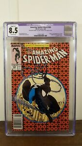 The Amazing Spider-Man #300 CGC Restored Grade 8.5 1st Appearance of Venom