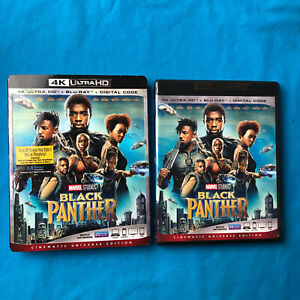 Black Panther (4K Ultra HD Blu-ray Disc ONLY 2018) + Slipcover Sleeve