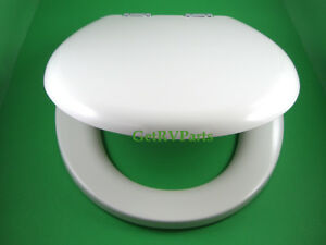 Thetford 36503 RV Toilet Seat and Lid Bone Tecma