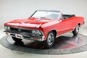 1966 Chevelle SS trim -- 1966 Chevrolet Chevelle SS trim  396 L34 V8 4 Speed Manual Convertible Regal Red