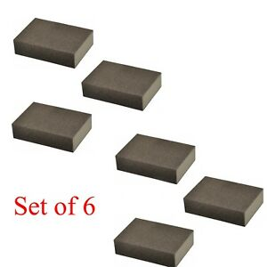 6PCS Drywall Sanding Sponge Blocks Kit Washable and Reusable Multi Purpose Use $7.99