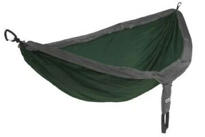 eno double nest forest charcoal light hammock  2 persons  285 x 189 cm 180 k...