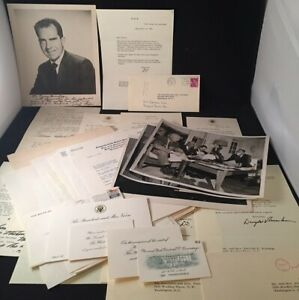 Dwight EISENHOWER  Personal Letters and Ephemera from the Collection Ephemera
