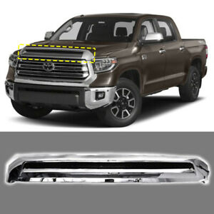 Fits For 2014 2018 Toyota Tundra Front Hood Bulge Chrome Molding