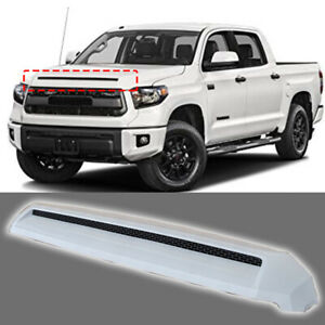 Fits For 2014 2018 Toyota Tundra Front Hood Bulge Super White Molding