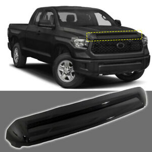 Fits For 2014 2018 Toyota Tundra Front Hood Bulge Gloss Black Platinium Molding