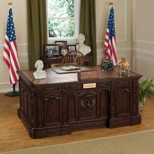 Design Toscano Oval Office Presidents' H.M.S. Resolute Desk