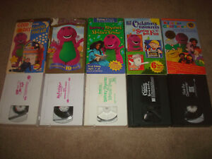 Kids For Character Vhs For Sale