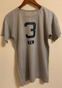 Vintage 50s U.S.N.A. US Naval Academy Champion Running Man Football Jersey Shirt