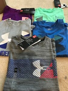 NWT Under Armour Girls Short Sleeve Tee