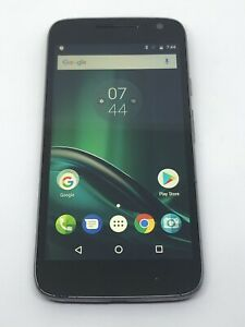 Motorola Moto G4 Play XT1607 - Black (Unknown) Smartphone  Clean IMEI