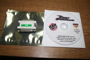FAST & FURIOUS RAW THRILLS DONGLE AND RECOVERY DISK DVD V3.0 USED WORKING