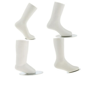 4Piece Kids Children Mannequin Dummy Foot Display Mold Shoes Socks Display