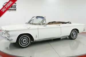 1963 CHEVROLET CORVAIR CONVERTIBLE FACTORY AC SUMMER FUN CALL 1-877-422-2940! FINANCING! WORLD WIDE SHIPPING. CONSIGNMENT. TRADES. FORD