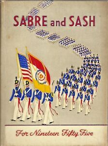 1955 SABRE and SASH PENNSYLVANIA MILITARY COLLEGE YEARBOOK $19.99