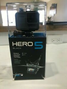 GoPro Hero 5 Black Edition Action Camera with 32gb memory card and OEM extras