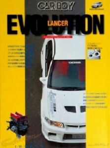 CARBOY Mitsubishi Lancer Evolution tuning bible book vol.4