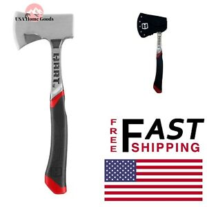 HART Hatchet W Cover 20 oz. Metal Axe Striking Hand Cutting Tool Wood Cutter