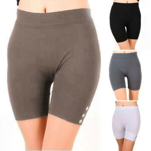 Women Yoga Sports Running Shorts Fitness Casual Gym Stretch Skinny Short Pants
