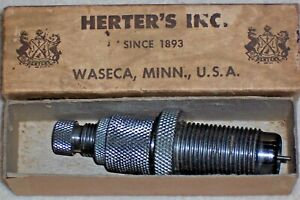 Herters 45 ACP-GAP Caliber Depriming-Expander-Brass Case Mouth Flaring Die