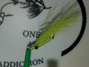 2 Hand tied Crazy Charlie size 8 .The best Crappie amp; panfish flies ever.