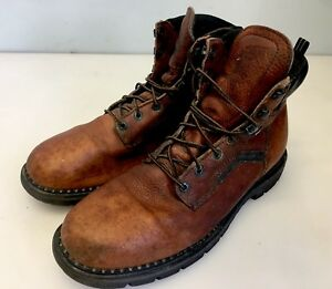 Red Wing Mens 926 EH Dyna Force 6-inch Leather Work Boots Size U.S. 14D