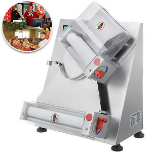 12inch Electrical Pastry Press Machine Pizza Base Stainless Steel Roller Sheeter