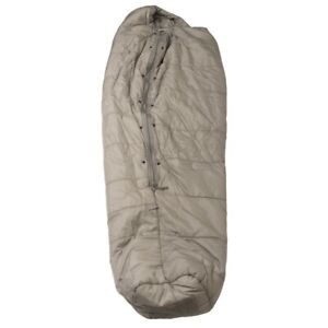 US Military Issue Improved Intermediate Cold Weather Sleeping Bag Grey  Used