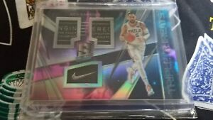 2017-18 Panini Spectra #BS Ben Simmons 76ers RC Rookie 1 of 1 Triple Threat rare