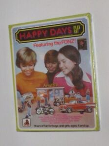 Happy Days TV Show Play Set 1979 NEW SEALED Toy Factory Drive-In Cars