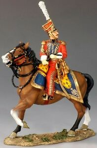 KING & COUNTRY THE AGE OF NAPOLEON NA164 DUTCH RED LANCER GENERAL MIB