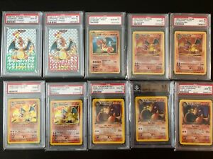 CHARIZARD PSA 10 BGS 73 graded card collection POKEMON 1st Edition