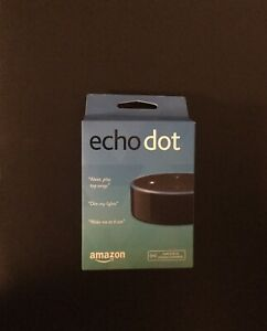Amazon Echo Dot 2nd Generation Smart Home Speaker with Alexa - Black - NEW