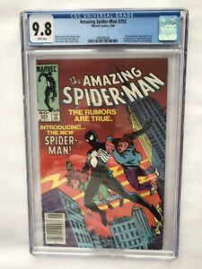 The Amazing Spider-Man #252 (May 1984 Marvel) CGC 9.8 White pages.