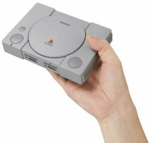 A++ Mint Playstation 1 Classic Mini Console PS1 + 2 controllers